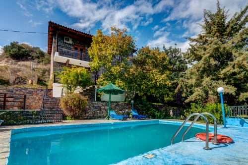 Holiday pool villa Sophie in Agios Nikolaos, Lasithi