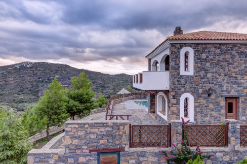 Holiday villa Rafaela with private pool, Lasithi
