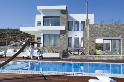 4 bedroom modern luxury villa with a great view to Mirabello