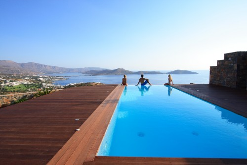 Holiday Pool Villa Black Pearl in Elounda, Lasithi