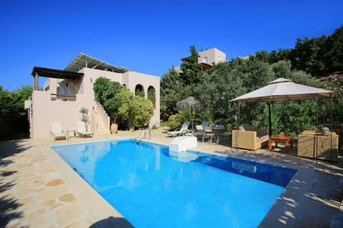 Family, holiday, 4-bedroom villa in Listaros-South Crete