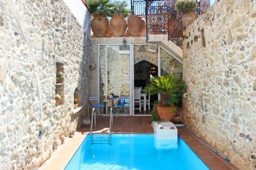 Two Bedroom stone decorated traditional villa