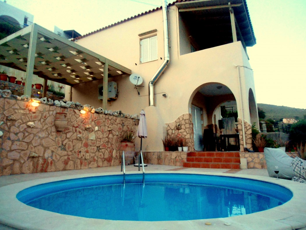 Private pool villa Aloe with wonderful sea and mountain view