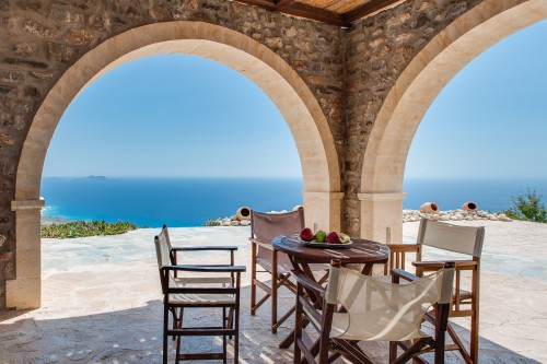 Relax and enjoy the spectacular view of the Libyan sea