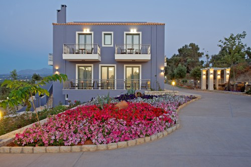 One of our twelve luxury sea view villas