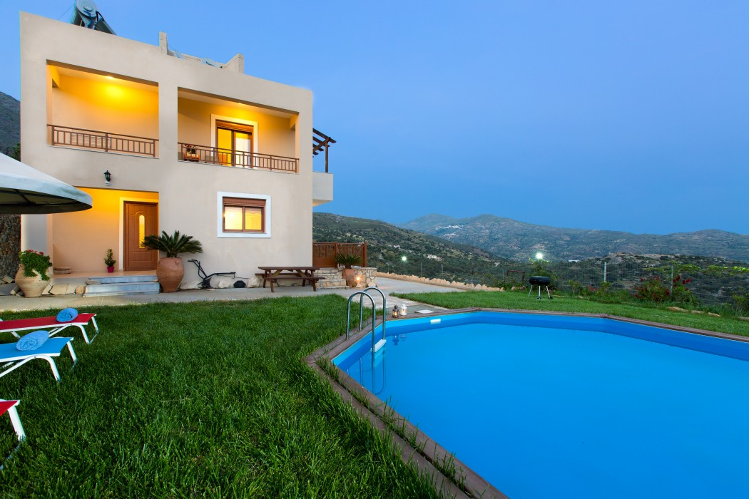 Family holiday villa in Triopetra, Rethymno