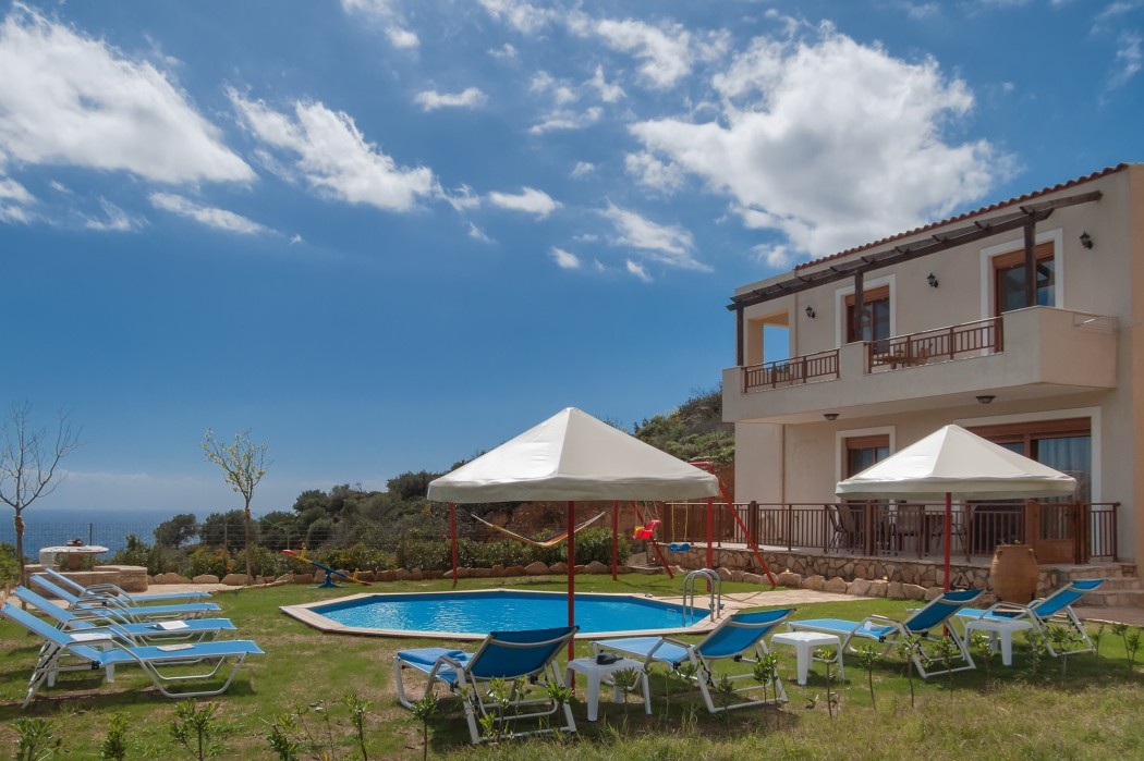 Holiday family villa in Southern Crete