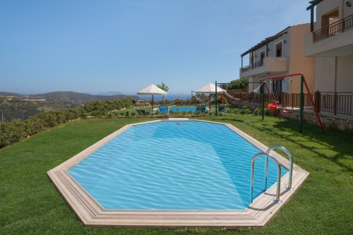 Family holiday villa with private pool Rethymno