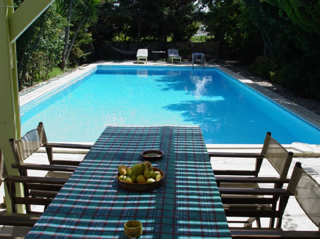 Family holiday villa with pool near Heraklion