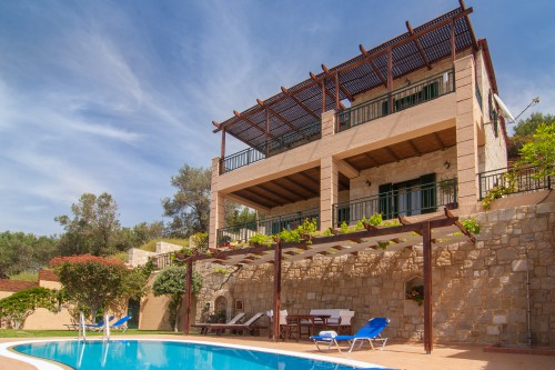 Kissamos rental villa with private pool
