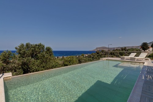 Crete holiday villas - Holiday villa with pool near Kissamos