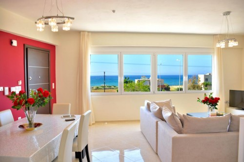Red Luxury Suite by the Sea