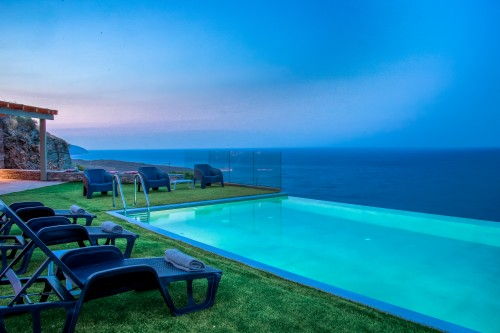 Luxury Villa with Infinity Pool in Andros
