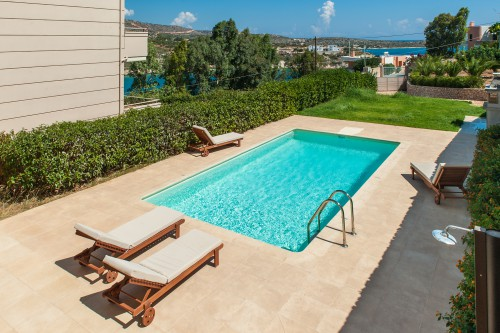 New holiday villa Electra with sea view to Loutraki bay