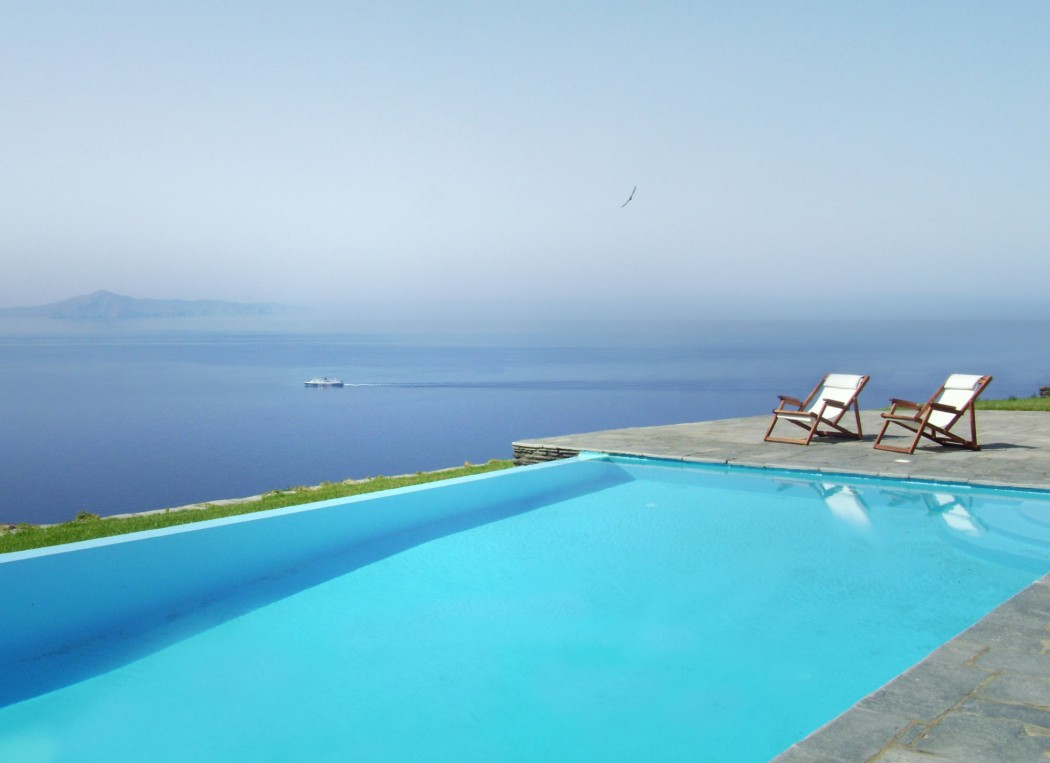Breathtaking Sea View Villa in Andros