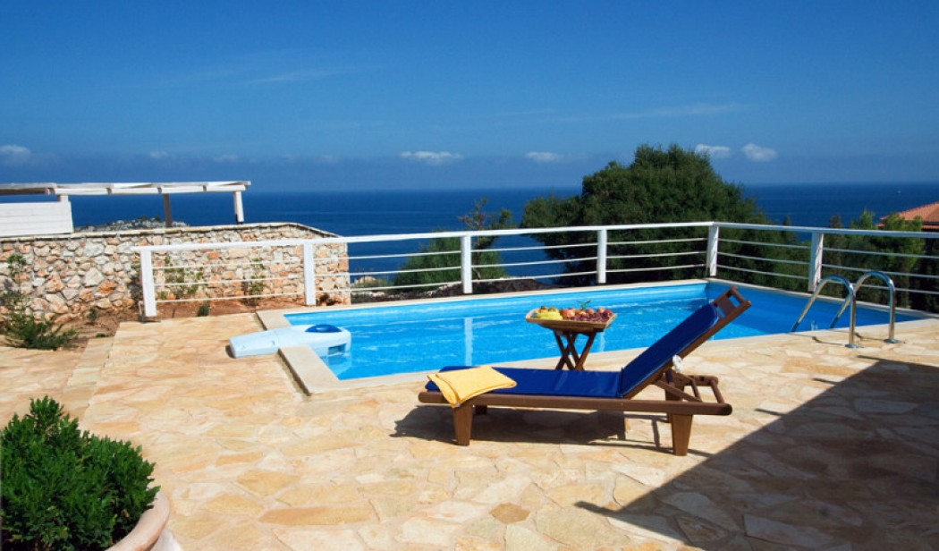 2 bedroom cozy stone villa Jogia with unparalleled sea view
