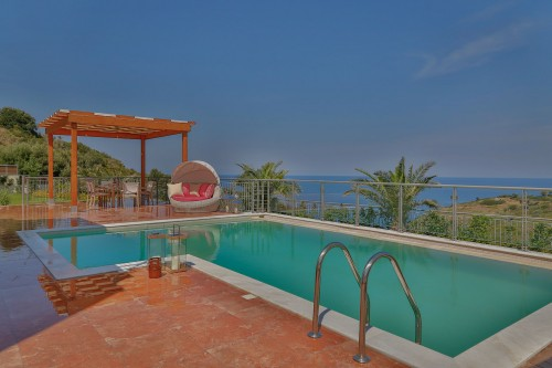 Wonderful private pool villa with sea-view ( SAGITTARIUS )