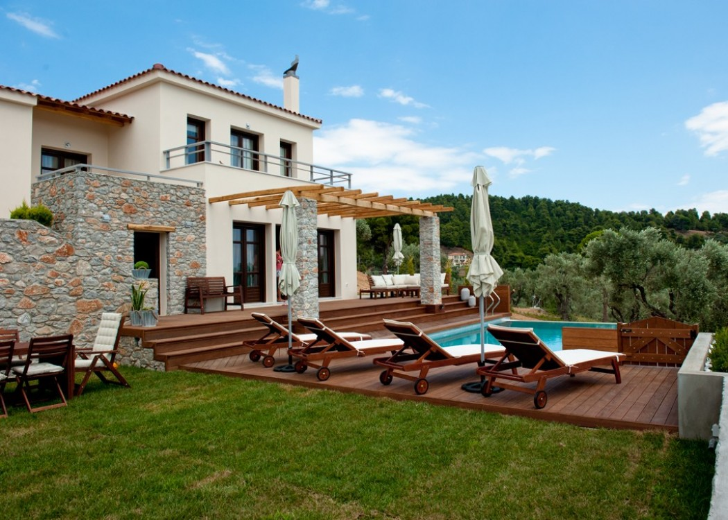Private Villa with amazing sea-view in Skiathos island