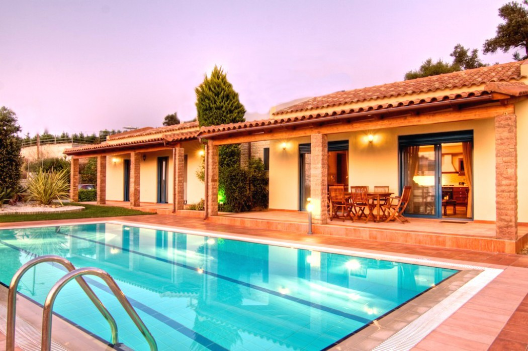Enjoy luxury and privacy by your villa's private pool